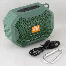 Колонки MP3  SY-818 с FM-прием.,USB, водонепроницаемая, Bluetooth