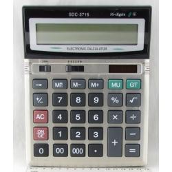 Калькулятор 2716 (SDC-2716) 16-разр. большой экр.
