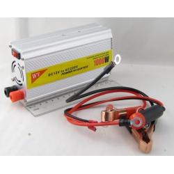 Преобразователь напряжения 12V-220V 1000W 1 розетка + USB №822