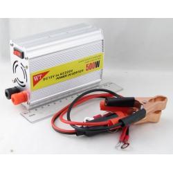 Преобразователь напряжения 12V-220V 500W 1 розетка + USB №815