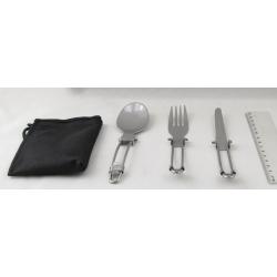 Туристический набор ТA 5009 (вилка, ложка, нож)