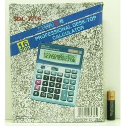 Калькулятор 1216(SDC-1216) 16 разр.