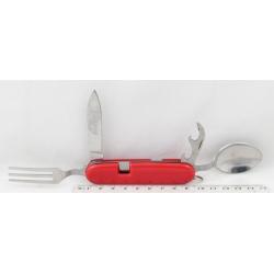 Туристический набор 106-3 (вилка, ложка, нож) малый