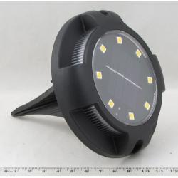 Светильник садовый YD-1647 (8 ламп) на солнечной батарее