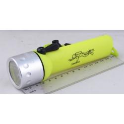 Фонарь светодиодный (1 мощ. 3AAА) H-400 zoom