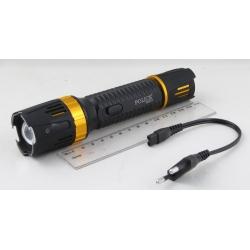 Электрошокер с фонариком  (1ярк.+ авто ЗУ+ аккум.) №1320 zoom
