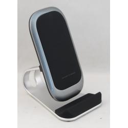 Держатель + беспров. зарядн. устр. для телефона Z-1 автомат. серебр. ??