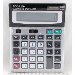 Калькулятор 2200 (DS-2200) 12 разр. больш. экран