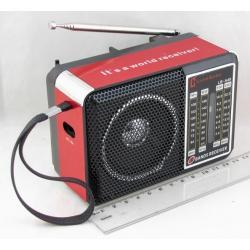 Радиоприёмник H-48 3 band (FM/AM/SW) с фонарем, встроен. аккум. ??