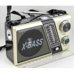 Радиоприёмник B-751BT 4 band (FM/AM/SW1,2) USB, SD встр. акк.,сетев., фонарь ??
