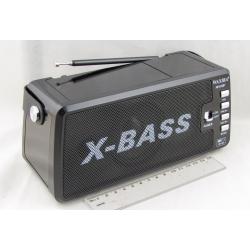 Радиоприёмник XB-832BT 3 band (FM/AM/SW) USB, SD встр. акк.18650, фонарь, Bluetooth ??