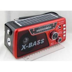 Радиоприёмник XB-834BT 3 band (FM/AM/SW) USB, SD встр. акк.18650, фонарь, Bluetooth ??