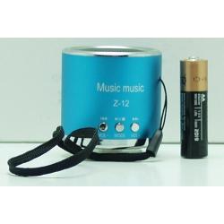 Колонки MP3 с FM-прием.,USB, SD Z-12 мал.