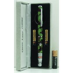 Лазерная указка зелен. 1000W 2 реж. комуф.