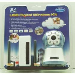 ВИДЕОкамера  цв. №2401 2,4G (бесп.) USB