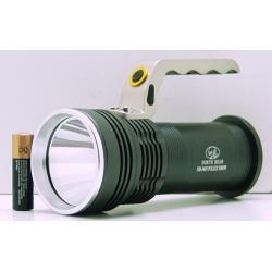 Фонарь аккумуляторный (1 ярк. + 2акк.+ ЗУ) 10000-18000W NB-3405(ST-1)