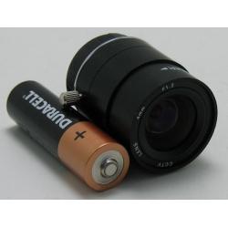"""Объектив FFM-0412 1/3"""" 4mm F1.2  71gr"""